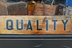 """Ford once use the slogan, """"Quality if Job #1."""" It's till true and can be what sets your #smallbiz apart."""