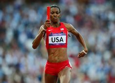 Deedee Trotter - Olympic track and field.  2 medals at the London games - 1 gold, 1 bronze.
