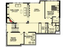 Craftsman With Amazing Great Room - 73330HS   Craftsman, Northwest, Traditional, Exclusive, Luxury, Photo Gallery, Premium Collection, 2nd Floor Master Suite, Butler Walk-in Pantry, CAD Available, Den-Office-Library-Study, Jack & Jill Bath, Media-Game-Home Theater, PDF   Architectural Designs