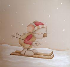 En Piccolo Mondo cuidamos hasta el último detalle de la habitación de vuestro bebé y para ello contamos con un extenso catálogo de cuadros con motivos infantiles y juveniles. Hamsters, Baby Painting, Christmas Clipart, Digi Stamps, Tigger, Illustrations, Disney Characters, Fictional Characters, How To Draw Hands