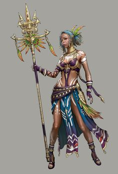 ArtStation is the leading showcase platform for games, film, media & entertainment artists. Female Character Concept, Fantasy Character Design, Character Design Inspiration, Game Character, Fantasy Rpg, Anime Fantasy, Fantasy Girl, Dnd Characters, Fantasy Characters