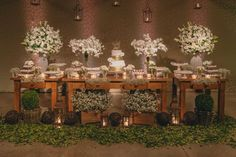 Inspire Blog – Casamentos Casamento à noite de Claudia e Julio - Inspire Blog - Casamentos Birthday Party Decorations, Wedding Decorations, Table Decorations, Sunset Wedding, Dream Wedding, Woodland Wedding, Rustic Wedding, Cruise Wedding, Its My Bday