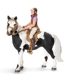 Schleich 42057 Riding Tack Set Blanket and Rider for Horse - NIP Schleich Horses Stable, Horse Stables, Horse Tack, Bryer Horses, Animal Action, Art And Hobby, Brown Horse, Horse Girl, Horse Riding