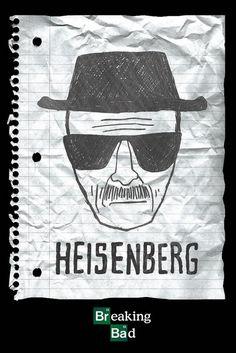 Breaking Bad Heisenberg Wanted Maxi Poster