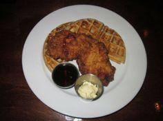 Chicken and Waffles at Sweet Grass Next Door.
