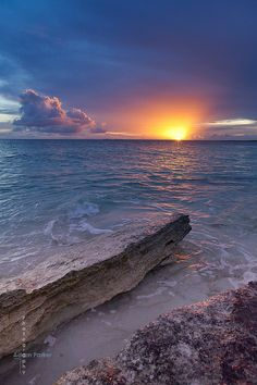 Barbuda sunset #Caribbean