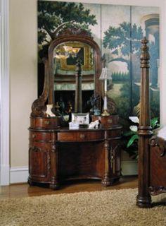 pulaski edwardian collection - dressing table