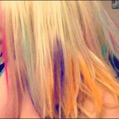 Love chalked hair!