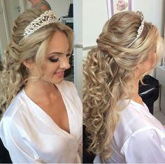 Penteado noiva princesa