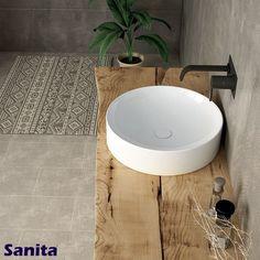 Tiny bathrooms 90423905005312809 - Vasque India Source by bainsdesign Small Bathroom Sinks, Natural Bathroom, Tiny Bathrooms, Hall Bathroom, Bathroom Interior, Master Bathroom, Bathroom Design Inspiration, Bad Inspiration, Dining Room Walls
