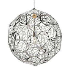 Designer Lighting Online Store Perth Australia | Replica Lights - Replica Tom Dixon Etch Web Pendant Platinum Premium, $289.00 (http://www.replicalights.com.au/tom-dixon-etch-web-designer-pendant-lamp/)