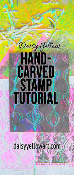 In this tutorial, a nudge to hand-carve a few stamps, to make a little design or pattern and turn it into a repeat. These miniature handmade mark-making devices add a unique twist, a bit of YOU, on your journal pages. [Updated from March 2015] Create repeatable imagery in your own unique style. This is an introduction to eraser and linoleum stamp carving, including a video tutorial, ideas & inspiration. Add some hand-carved stamps to your art journal!