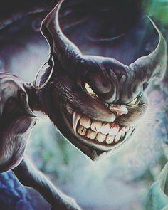 Mad Cheshire Dark Alice In Wonderland, Alice In Wonderland Illustrations, Alice In Wonderland Characters, Adventures In Wonderland, Fantasy Paintings, Fantasy Artwork, Crazy Cat Lady, Crazy Cats, Alice Sweet Alice
