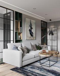 проект квартиры в современном стиле в Санкт-Петербурге