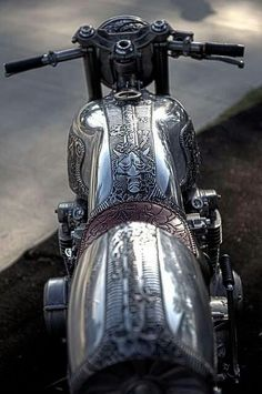 .Art and crafts....motorcycle metal work.