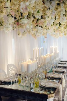WedLuxe– Symphony of Flowers   Photography by: Hong Photography Follow @WedLuxe for more wedding inspiration!