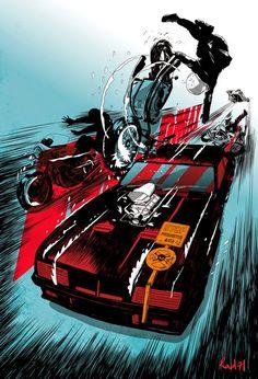 Cool Art: 'Mad Max' by Chris Thornley (aka Raid 71)