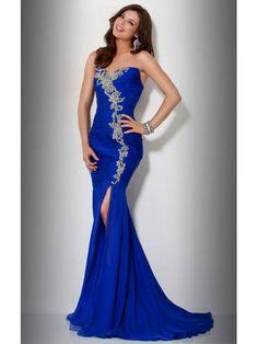 blue evening dress (07)