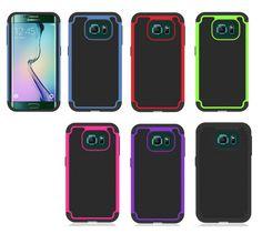 $3.99 *** Samsung Galaxy S6 Edge Case Cover Protective Skin Hybrid Bumper #s6edge #phonecases  #galaxys6edge