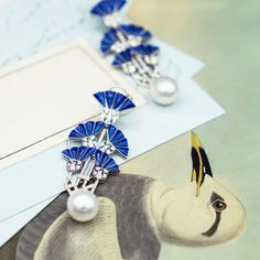 Ilgiz F earrings