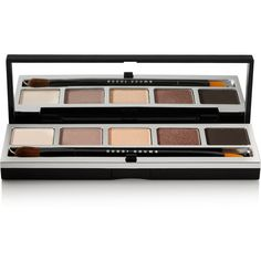 Bobbi Brown Rich Caramel Eye Palette ($56) ❤ liked on Polyvore featuring beauty products, makeup, eye makeup, eyeshadow, palette eyeshadow and bobbi brown cosmetics