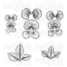 Heartfelt Creations Stack And Store Daubers 30//Pkg HCDA2 ~ NIP