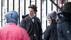 """Matt Smith and Jenna-Louise Coleman """"I wear a bowler hat now, bowler hats are cool"""""""