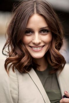 Olivia Palermo - long bob More