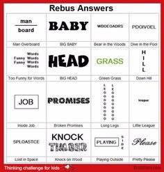Brain teaser - Kids Riddles Logic Puzzle - rebus for kids challenge - Challenge for kids. Look at this rebus and find answers. Riddles Logic, Word Riddles, Logic Puzzle Games, Logic Puzzles, Rebus Puzzles, Word Puzzles, Puzzles For Kids, Math Puzzles Brain Teasers, Brain Teasers For Kids