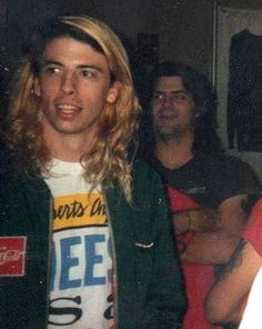 When Dave Grohl was blonde Foo Fighters Dave Grohl, Foo Fighters Nirvana, Danny Carey, Blonde Babies, Nirvana Kurt Cobain, Star Pictures, Star Pics, Ozzy Osbourne, Tumblr
