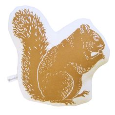 Squirrel Pillow, perfect for my living room, plus it would be funny for Cody and I!