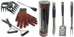 Hey, I found this really awesome Etsy listing at https://www.etsy.com/listing/281810834/fathers-day-full-set-bbq-tool-set-heat