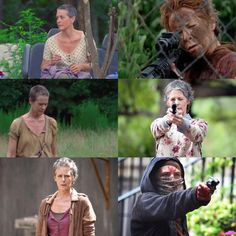 The Evolution of Carol #TheWalkingDead