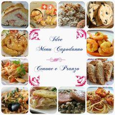 Idee menu Capodanno Cenone e Pranzo