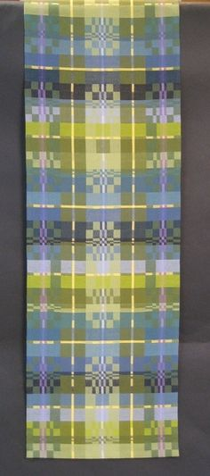 Mountain Spring by Kathie Roig Professional Weaving, Decorative Non-Functional, Complex Weavers Award