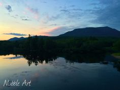 A photo from the North woods in the beautiful state of ‪#‎Maine‬. This is a view of Mt. Katahdin from the Abol Bridge. Photo by Matt Rosenberg, keeper of the Nubble Lighthouse.  See more Maine adventures at Nubble Art.  Feel free to share.