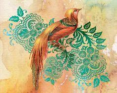 I uploaded new artwork to fineartamerica.com! - 'Exotic Beauty-e' - http://fineartamerica.com/featured/exotic-beauty-e-jean-plout.html via @fineartamerica