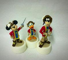 I tre moschettieri/The Three Musketeers  - Cake by Donatella Bussacchetti