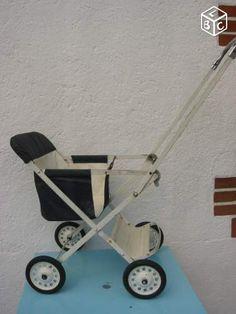 Ancienne poussette de bébé pliante - Vintage 60's Equipement bébé Saône-et-Loire - leboncoin.fr