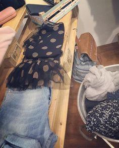 Dectails #pois #tshirt #tulle #jeans #momjeans #vitalta #zainetti #foulard #portafogli #primavera2016 #springiscoming #lapulcedilulu #viaroma #pennabilli #rimini by la_pulce_di_lulu