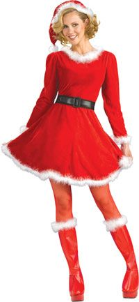Mrs. Claus Christmas Costume - Christmas Costumes