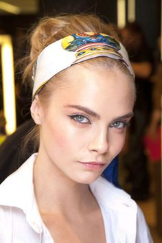 Skin All Aglow at Dolce & Gabanna - Best Spring 2013 Fashion Week Makeup Looks