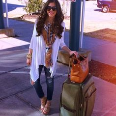 Adore this look; super comfy and casual but so stylish and nicely put together