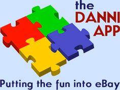 The logo says it all - the fun of a puzzle in eBay colors - The Danni App + eBay = FUN!