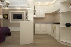 Design interior bucatarie clasica apartament Constanta cu doua camere. Kitchen Cabinets, Decor, Interior Design, Kitchen, Home, Interior, Cabinet, Home Decor