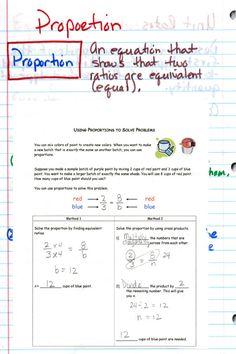 Ratio and proportions Interactive Journals, Math Notebooks, Fun Math, Maths, Math Classroom, Classroom Ideas, Scale Drawings, Consumer Math, 7th Grade Math