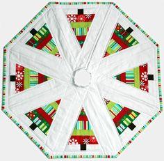 Feitos Por Cola: Árvore de Natal Skirt