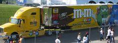 Elliott Sadler  #38 M&M's hauler