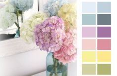 dreamcatcher weddings: Floral Palette: Pastel Hydrangeas
