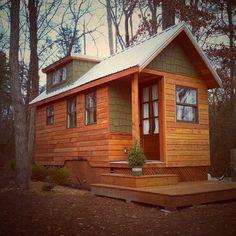 Haven  Serafini Amelia  Wind River Custom Homes-Park Model Size-Getaway Cottage